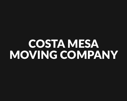Costa Mesa Moving Company logo